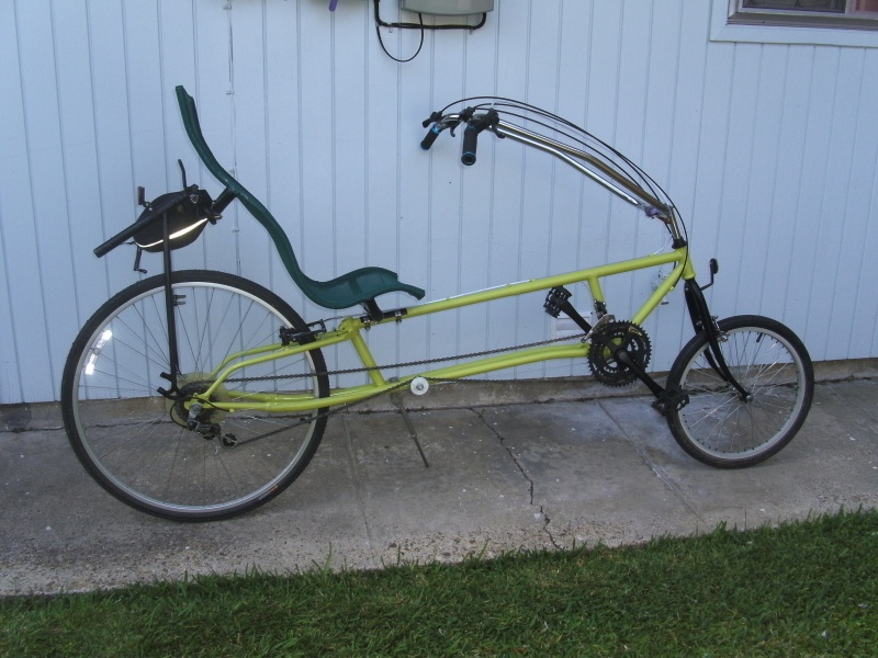Jon's Recumbent Bicycle