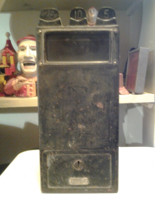 photo of Vintage_Tech_Iron_Pay_Phone_Coin_Box