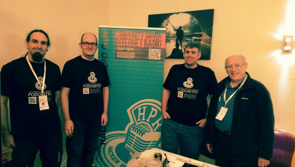 HPR team at OggCamp