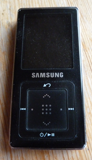 Samsung YP-Z5A front