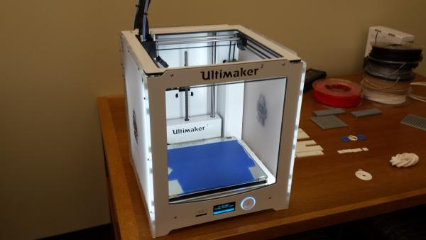 One of the 3d printers in the maker space