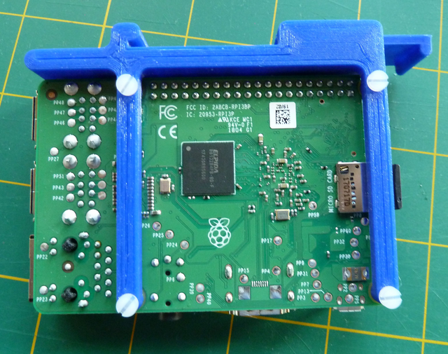 Mounting plate for RPi (1)