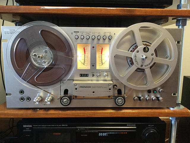 Pioneer Reel-to-Reel Tape Deck